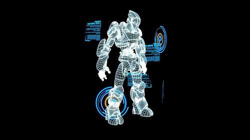 3d全息投影可以呈现非常具有科幻感,3d感,立体感,真实感的三维影像